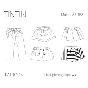 Tintin short/broek