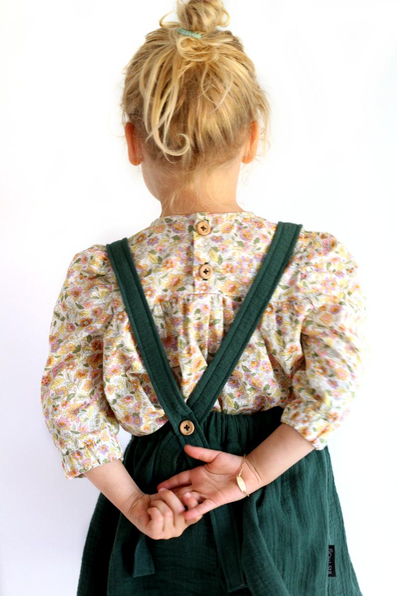 f883e1d80dd84b Odeline blouse jurk - PDF patroon - Iris May