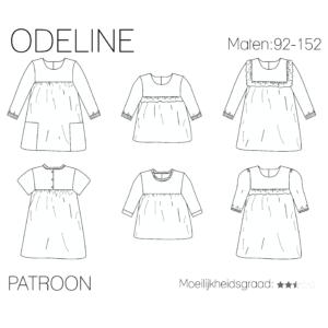 Odeline blouse/jurk